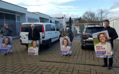 Plakate zur Landtagswahl